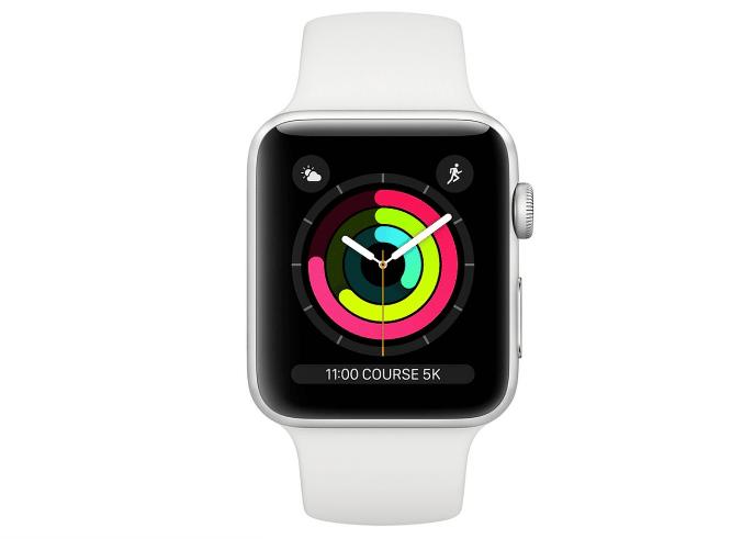 Idées cadeaux high-tech 2018 – meilleure montre connectée Apple Watch 3 - Blog SFAM
