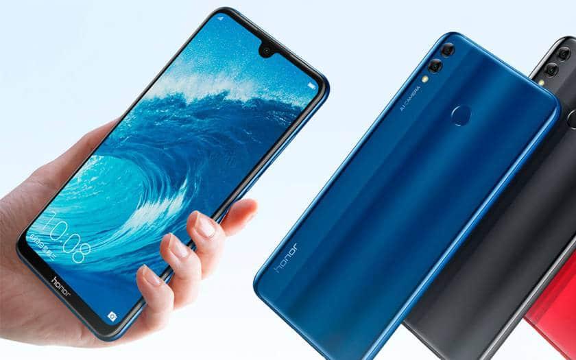 Meilleur smartphone 2018 - Rapport qualité prix - Honor 8X Prix Smartphone - Blog SFAM