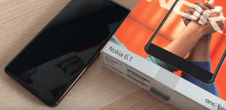 Nokia 6.1 smartphone moins de 300 euros - Blog SFAM