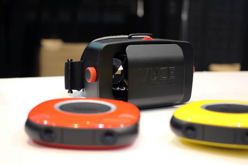 Idées cadeaux high-tech 2018 – meilleure caméra 360 Vuze - Blog SFAM