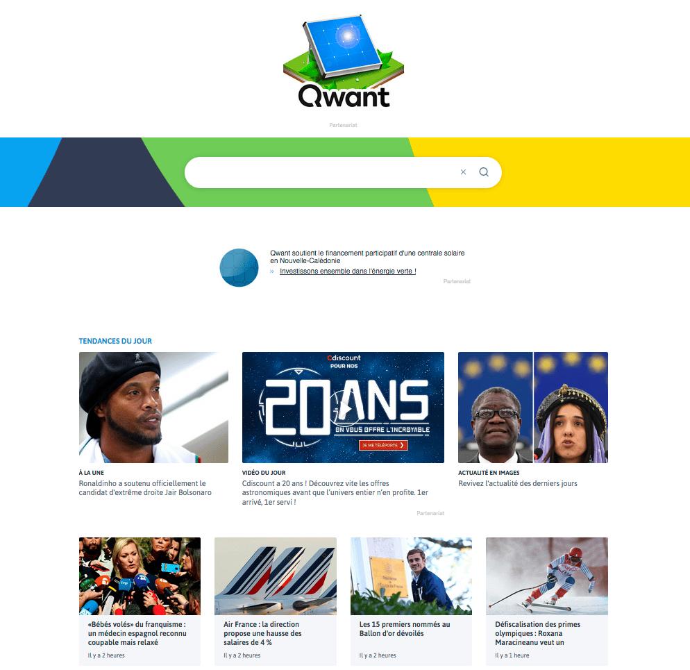 Qwant moteur recherche Google - Blog SFAM