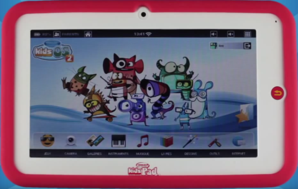 Meilleure tablette enfant - videojet kidspad - Blog SFAM