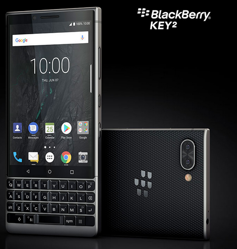 Blackberry key 2 - Blog SFAM