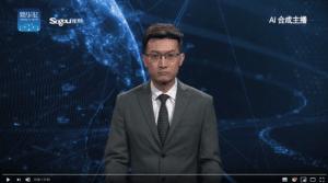 Presentador Xinhua News IA - Blog SFAM