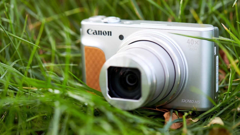 Compact Canon SX740 HS - Blog SFAM
