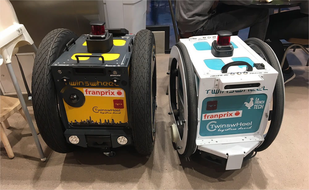 Franprix robot livreur - Blog SFAM