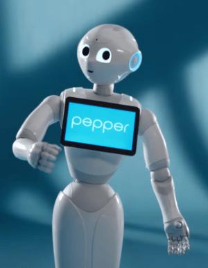Pepper robot - Blog SFAM