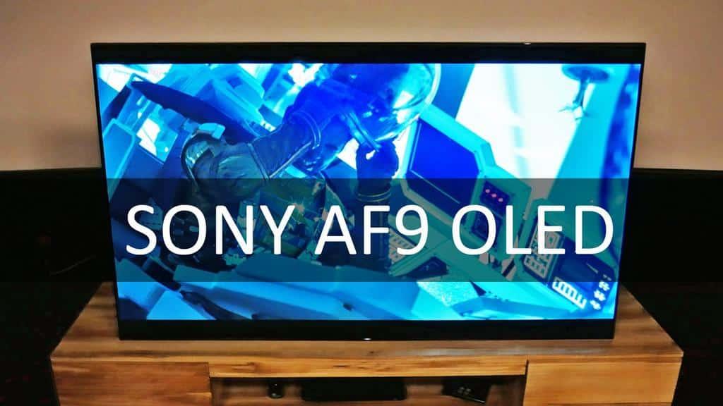 Sony OLED AF9 - Blog SFAM