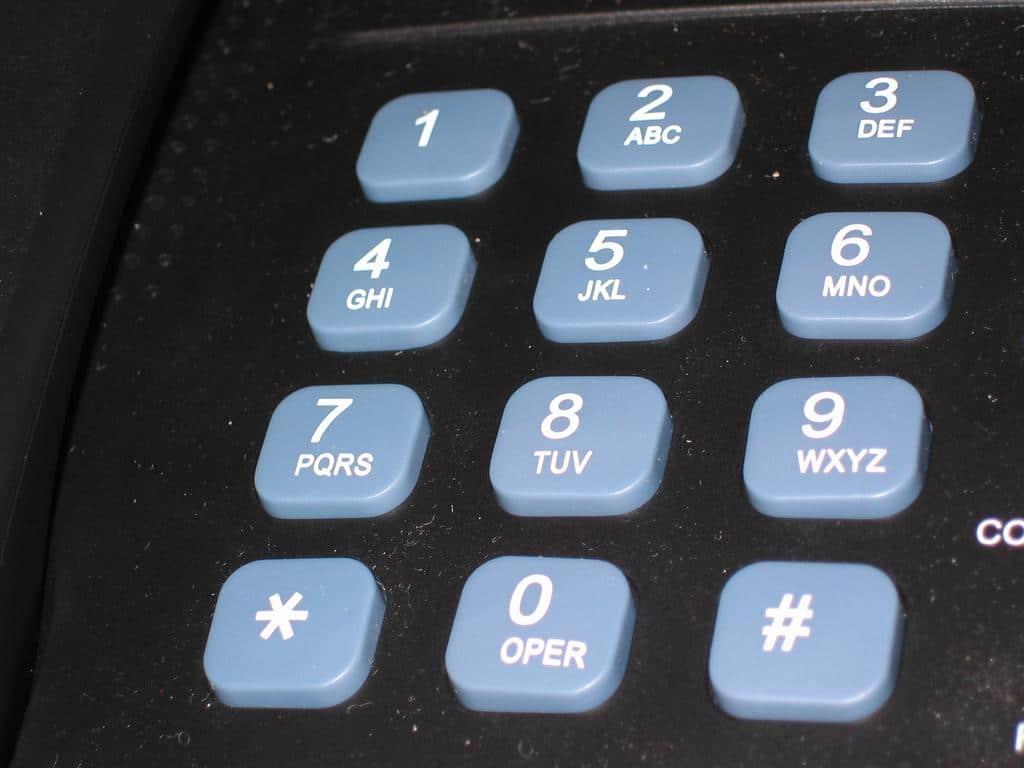 telephone grosses touches - téléphone pour sénior - Blog SFAM