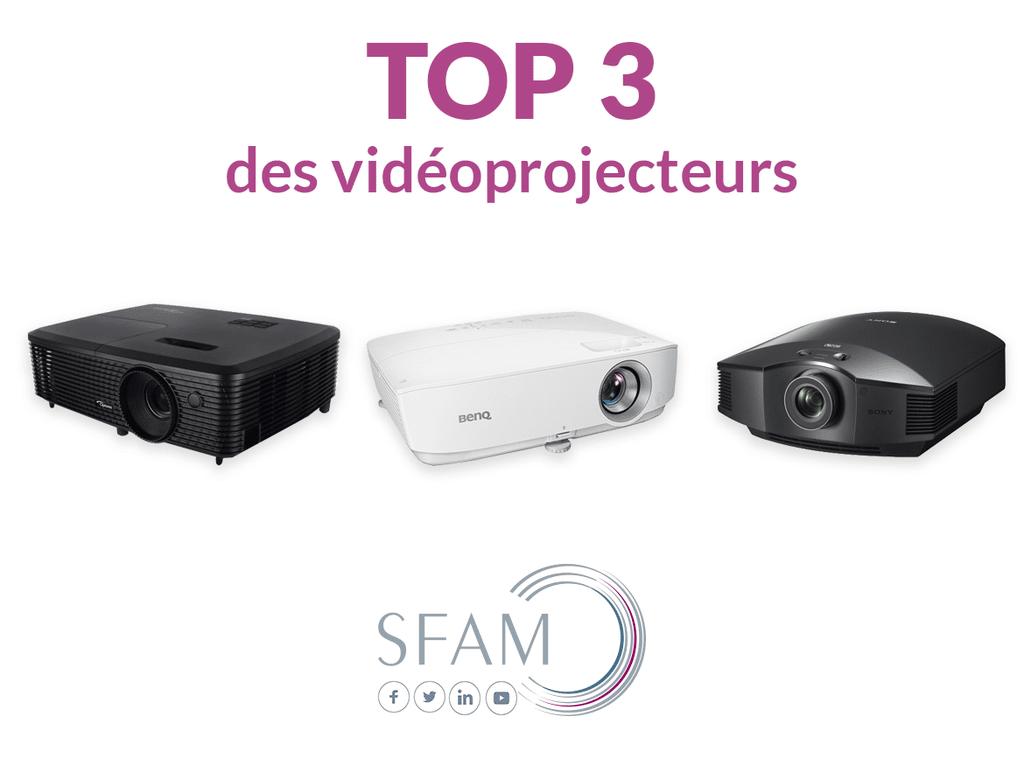 Top videoprojecteurs - Blog SFAM
