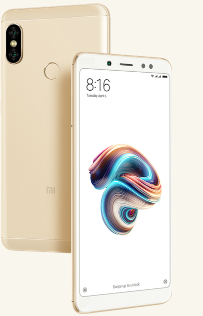 Xiaomi Redmi Note 5 - Blog SFAM