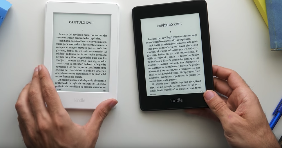 Comparación Kindle - Blog SFAM