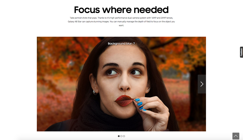 Samsung pub reflex - Blog SFAM