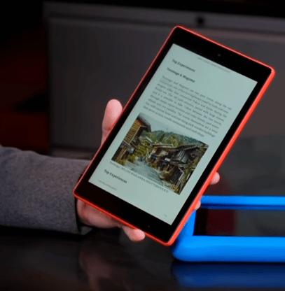 Amazon Fire HD - Blog SFAM