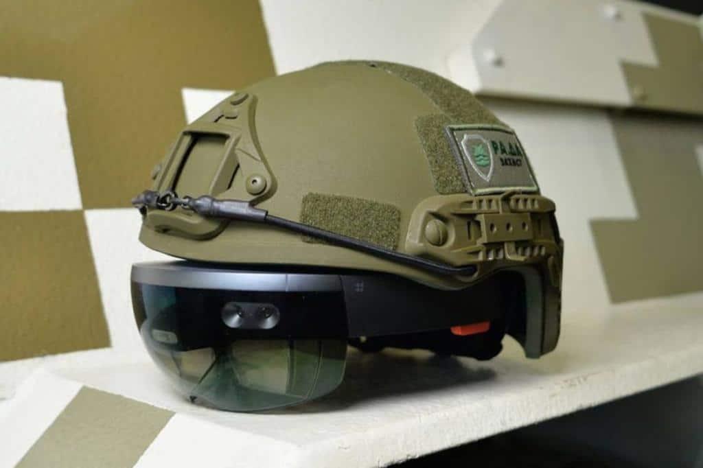 Casque HoloLens et armée US - Blog SFAM