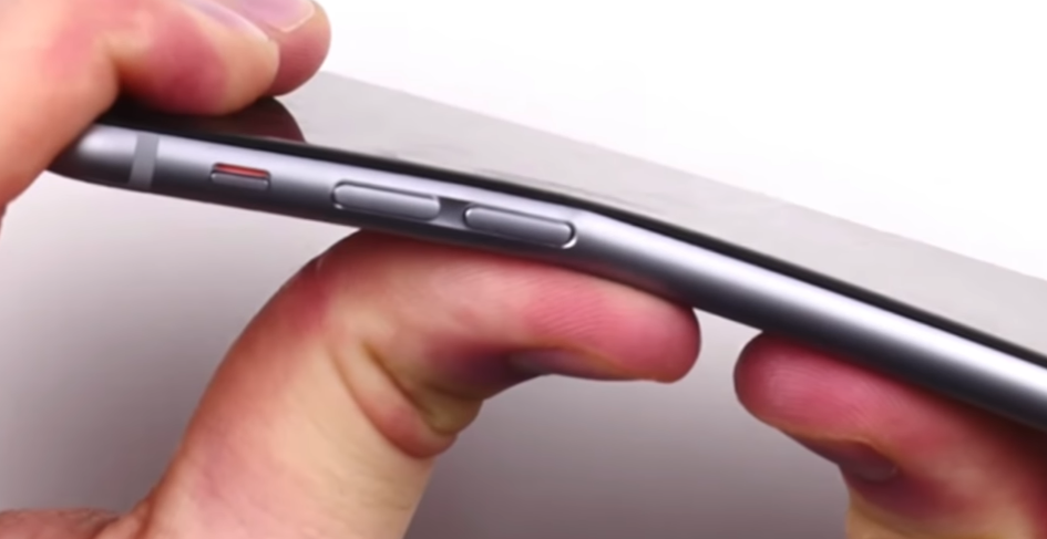iphone 6 se plie - bendgate - Blog SFAM