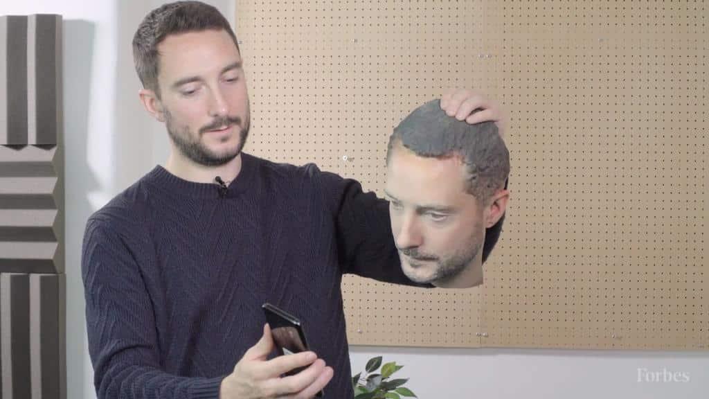 tete 3D reconnaissance faciale - blog SFAM