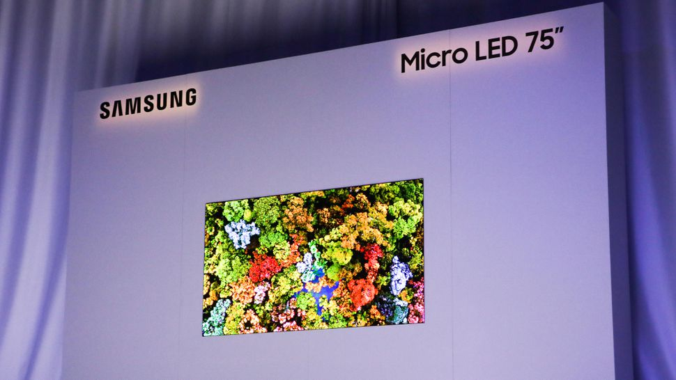CES 2019 Micro-LED Samsung - Blog SFAM