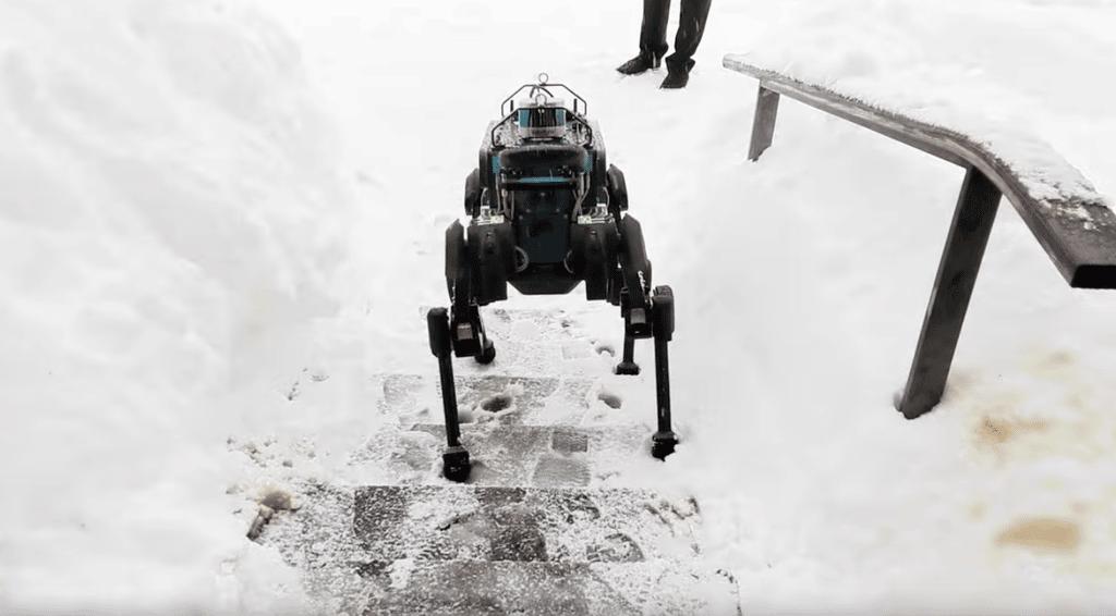 ANYmal robot nieve - Blog SFAM