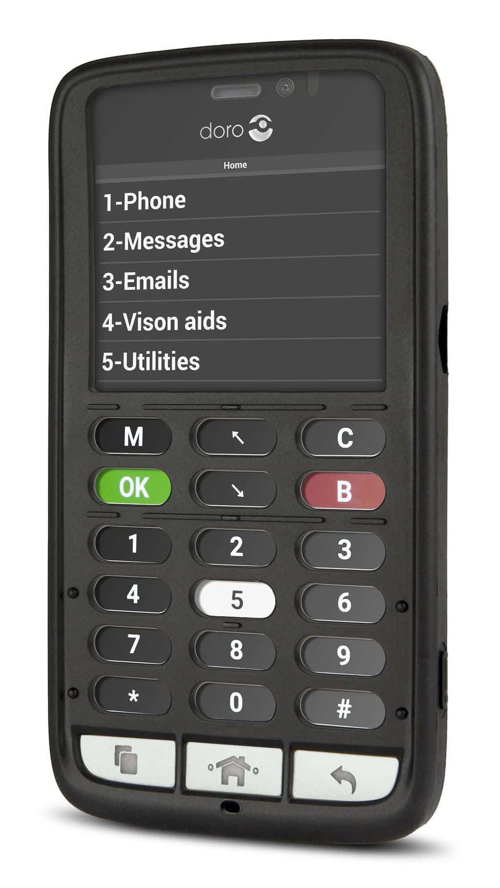 téléphone malentendant - urgence Doro 8030C - Blog SFAM