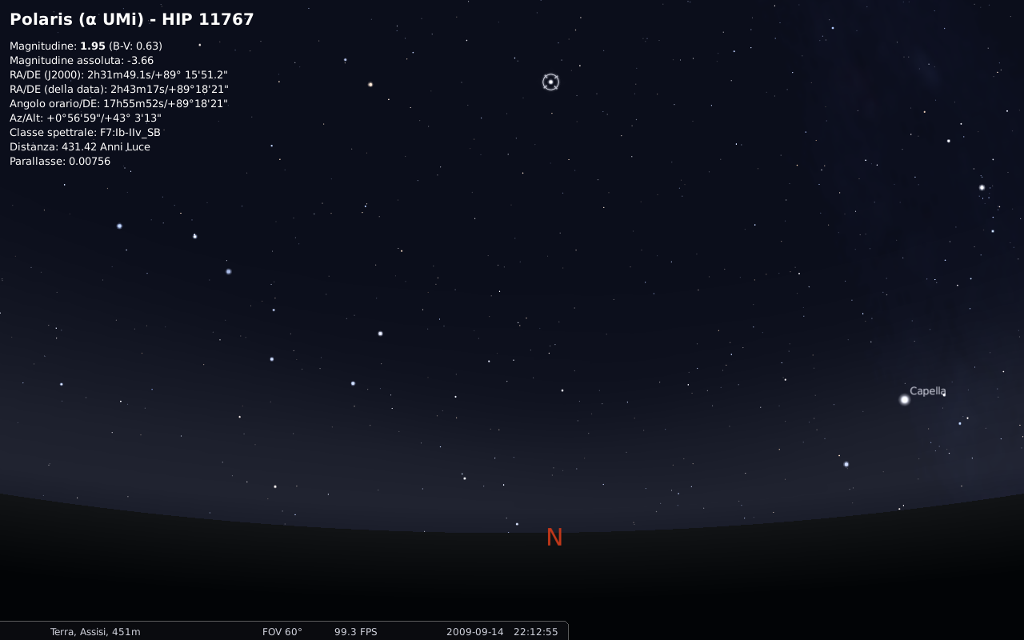 Stellarium Polaris - Blog SFAM