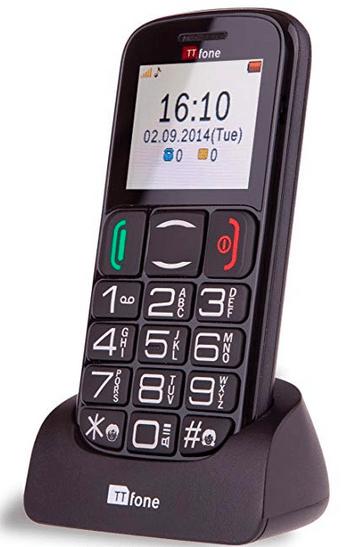 Téléphone pour malentendant TTfone Mercury TT200 - Blog SFAM