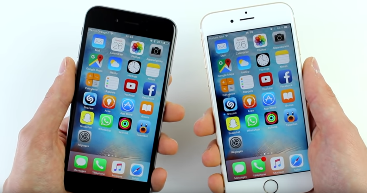 Comparatif iPhone 6 iPhone 6S - Blog SFAM