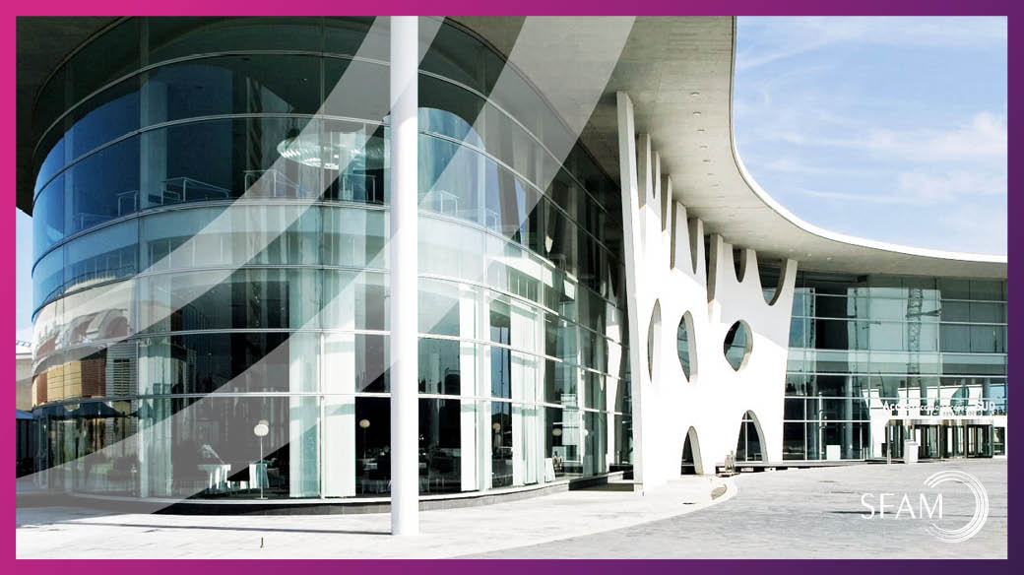 Acceso principal a Fira Barcelona, sede del MWC - Blog SFAM