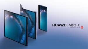 smartphone pliable huawei mate x samsung - Blog SFAM