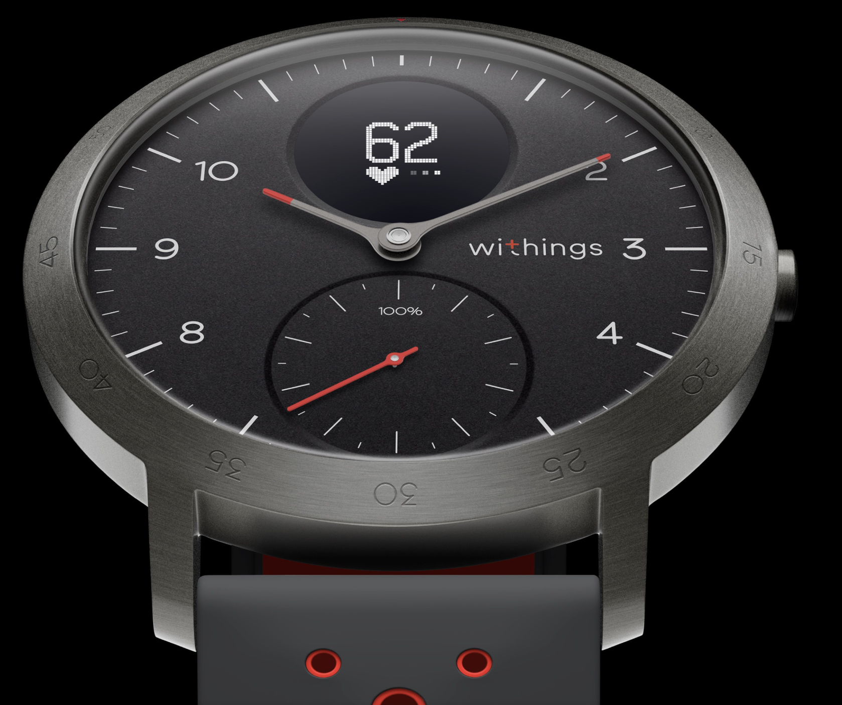 Withings Steel HR Sport - meilleure montre connectée - Blog SFAM
