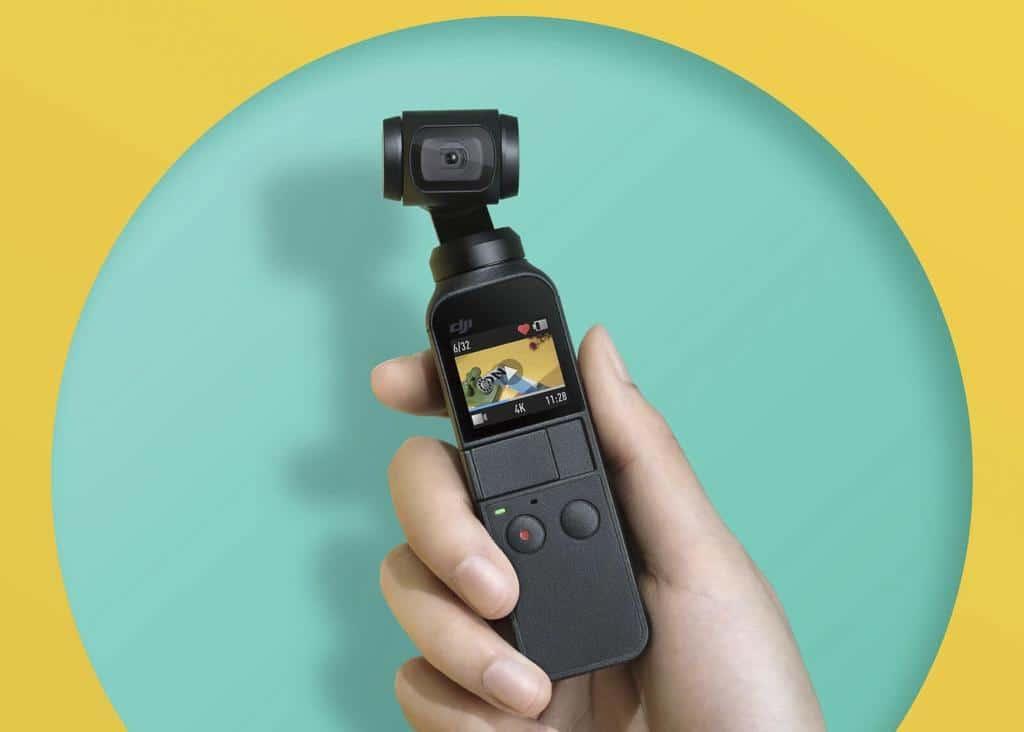 dji osmo pocket camera miniature - Blog SFAM