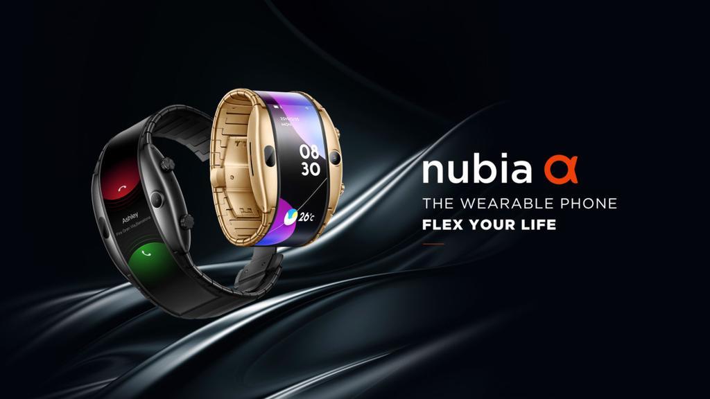 smartphone poignet nubia alpha - Blog SFAM