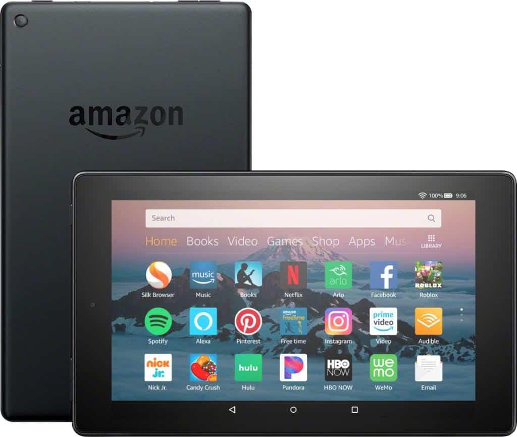 Amazon Fire HD 8 - blog SFAM