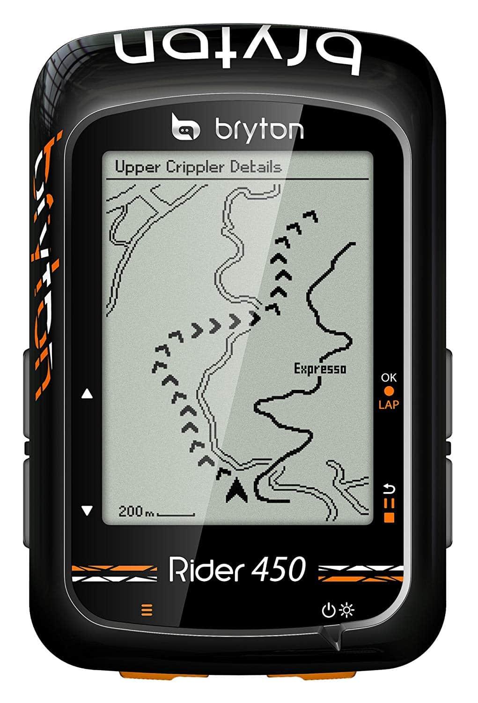 Comparatif des GPS pour le VTT - Bryton Rider 450 - blog SFAM