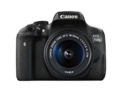 Appareils photo reflex à moins de 1000 euros Canon750D - blog SFAM
