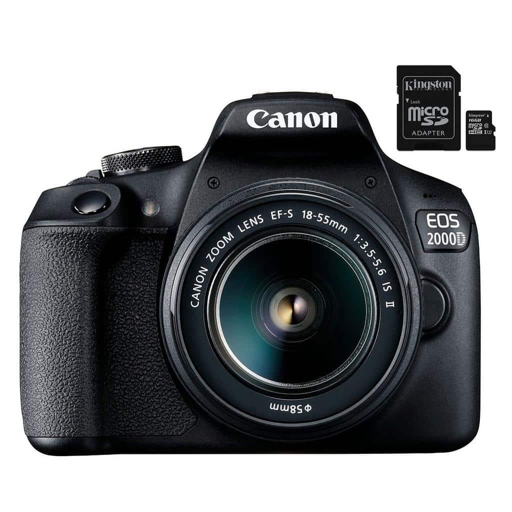 Canon EOS2000D - blog SFAM