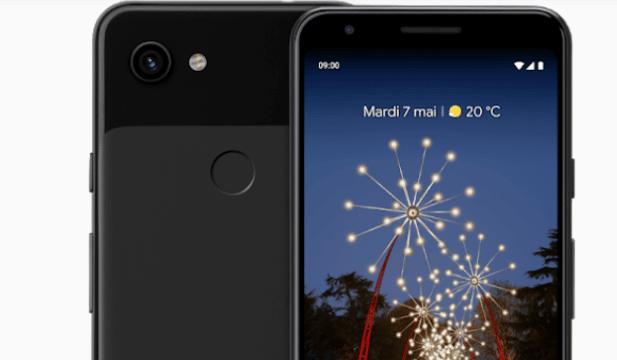 Smartphone Pixel 3a Google - Blog SFAM