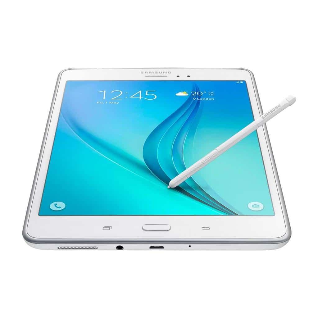 Comparatif de tablettes Samsung / Samsung Galaxy Tab A avec S Pen White - blog SFAM