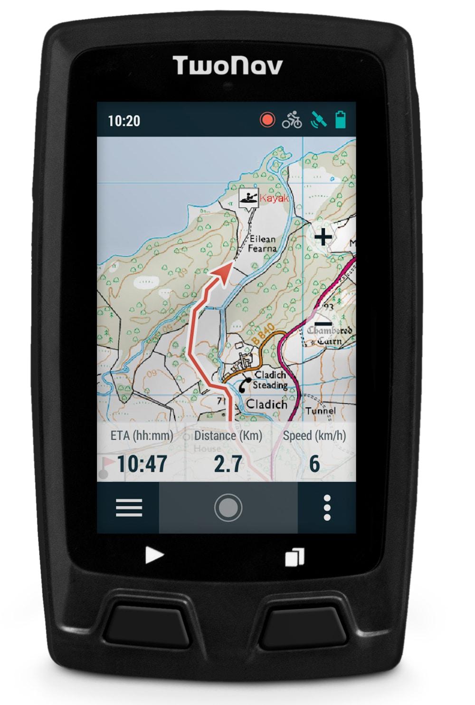 Comparatif des GPS pour le VTT - TwoNav Horizon Bike - blog SFAM
