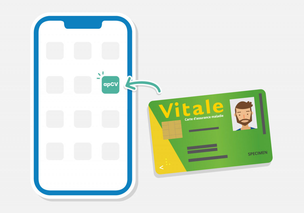 carte vitale smartphone - Blog SFAM