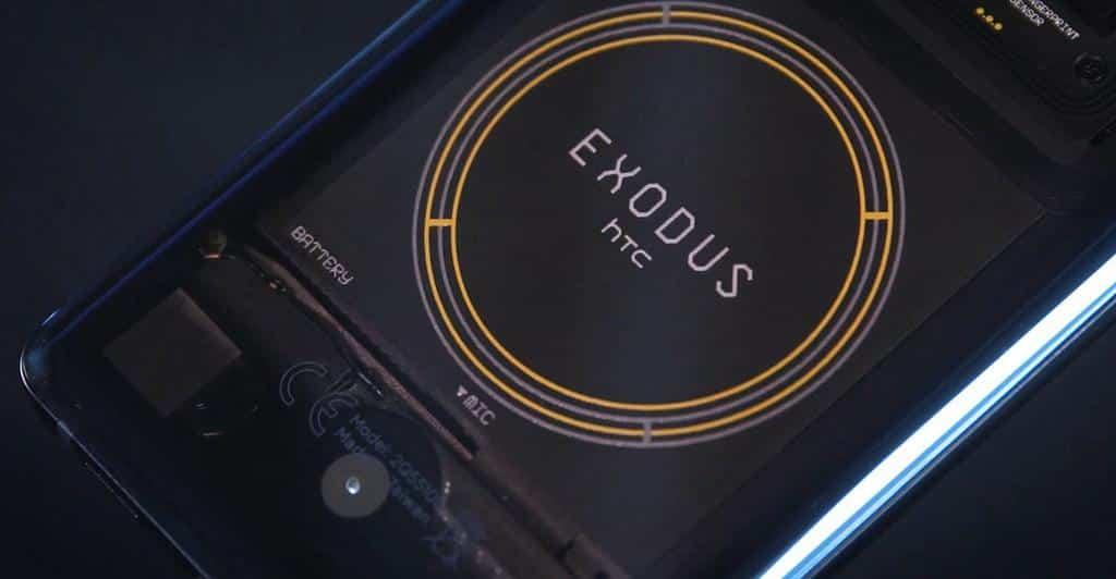 htc exodus 1s smartphone blockchain - Blog SFAM