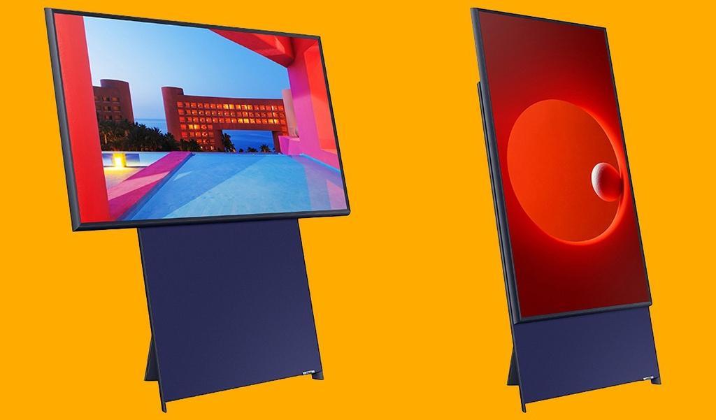 samsung sero televiseur vertical - Blog SFAM