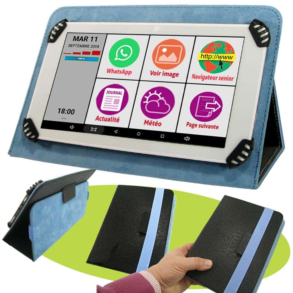 Tablette pour senior - Tablette Initiale 7P - blog SFAM