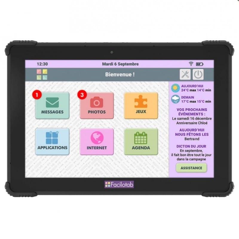 Tablette pour senior - Tablette L Onyx - blog SFAM