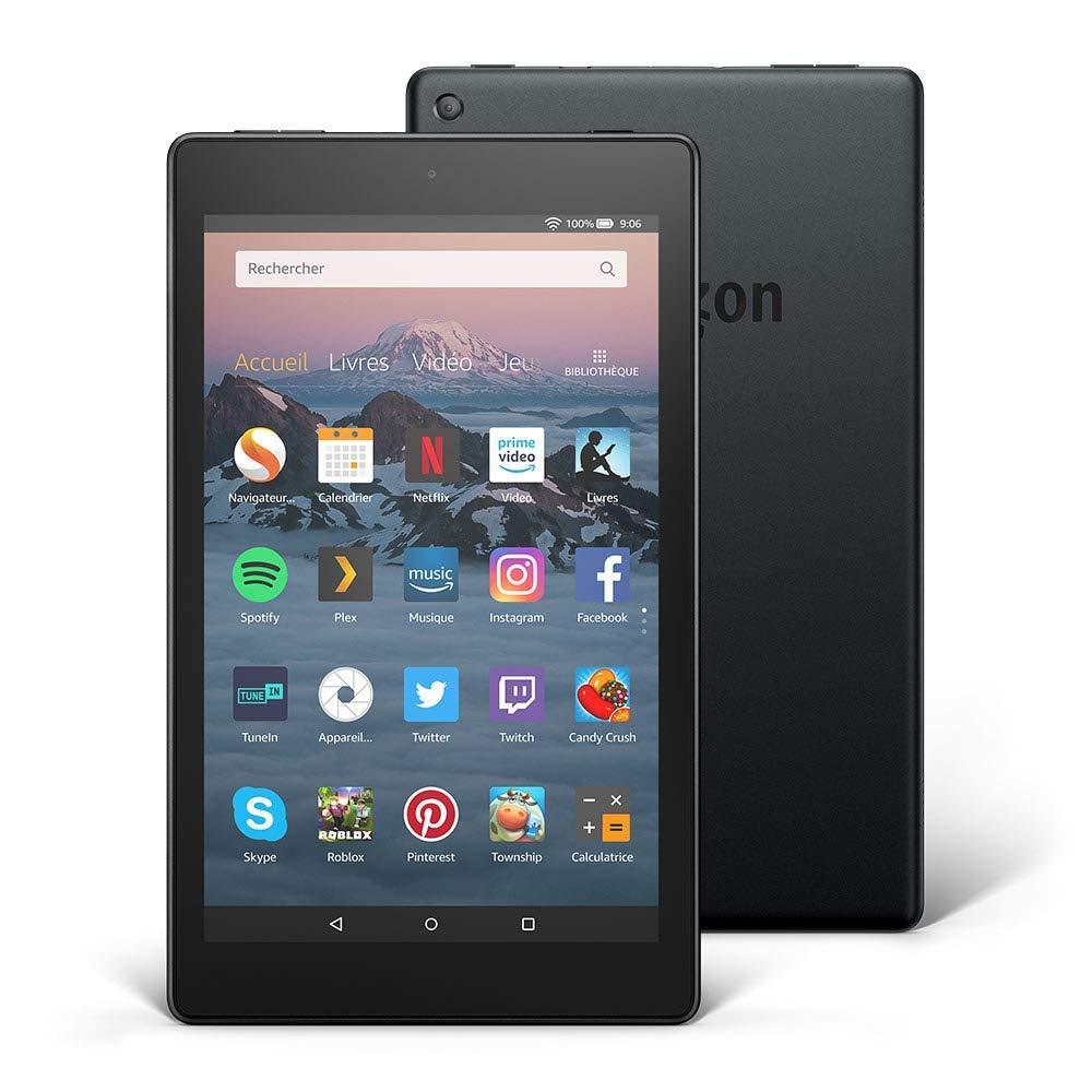 Tablette pour senior - Tablette Fire HD 8 - Blog SFAM