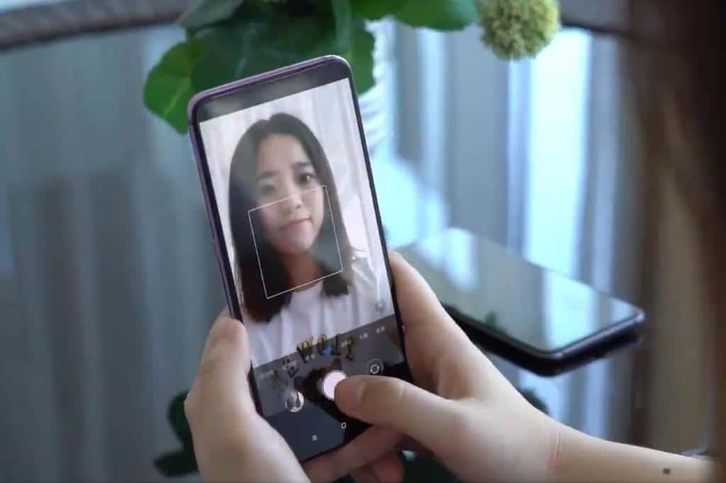 smartphones camera selfie sous ecran xiaomi oppo - Blog SFAM
