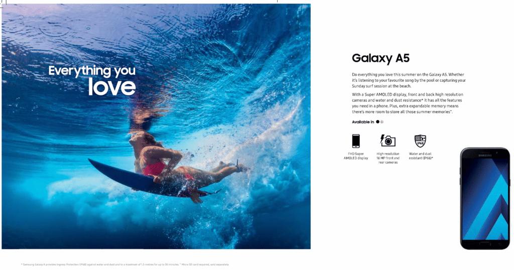 Samsung-surfboard-publicite-mensongere-waterproof-blog-sfam