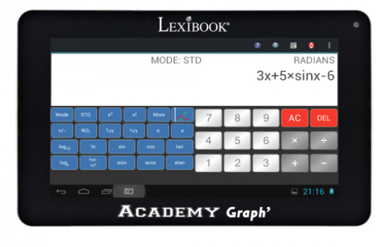 Tablette-Androi-2-en-1-Power-Academy-Graph
