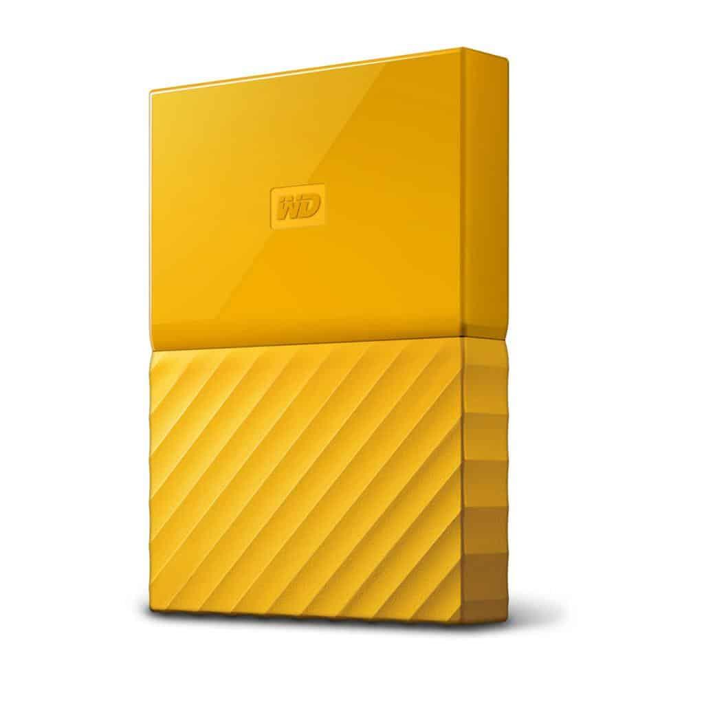 WD My Passport 4 To Jaune USB 3.0 - Blog SFAM