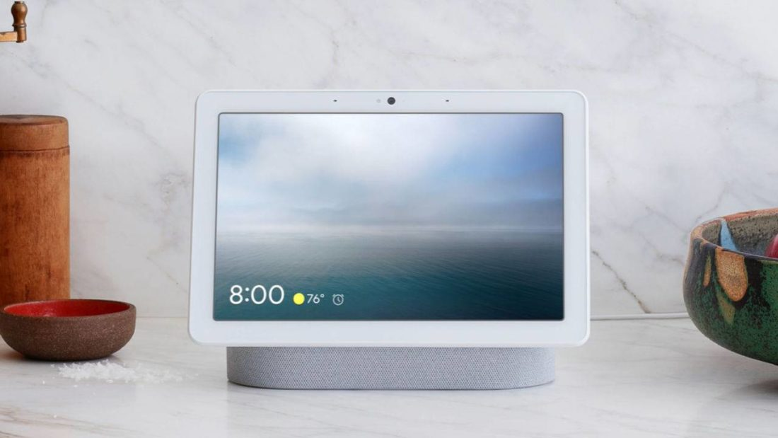 google nest hub max ecran connecte - Blog SFAM